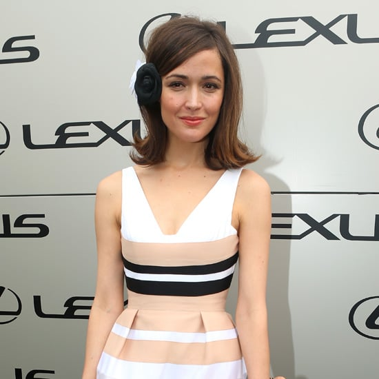 Rose Byrne Pictures in Alex Perry at 2012 Melbourne Cup