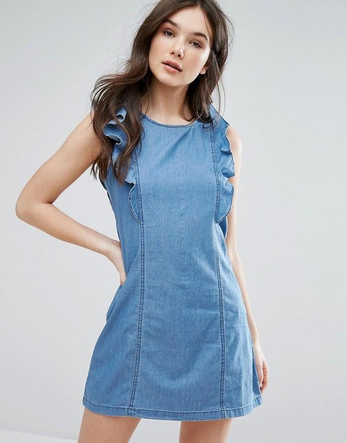 71b333be11ea4c Best Denim Dresses 2017 | POPSUGAR Fashion