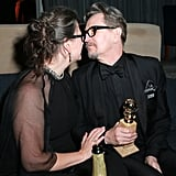 Gary Oldman Celebrated His Golden Globes Win With His Family by His Side