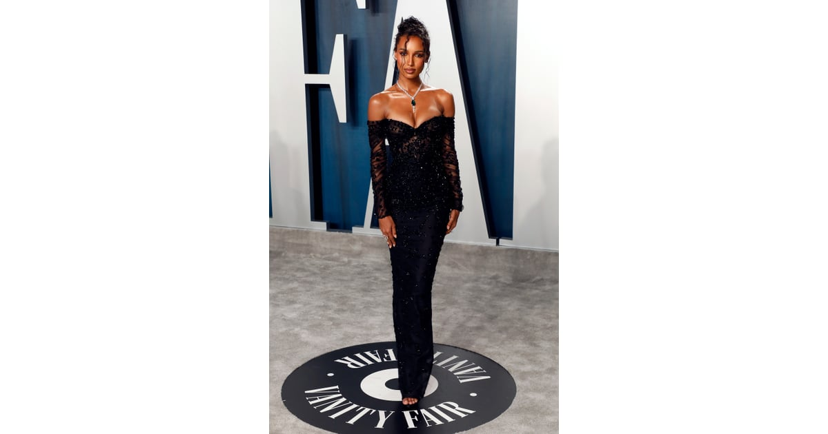 Jasmine Tookes At The Vanity Fair Oscars Afterparty 2020 See Every Incredible Dress At The Vanity Fair Oscars Afterparty Popsugar Fashion Photo 126