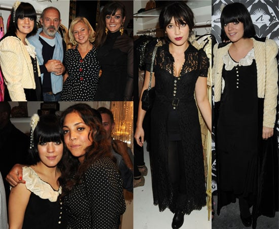 Pictures of Lily Allen and Family and Friends at Lucy In Disguise Store Launch