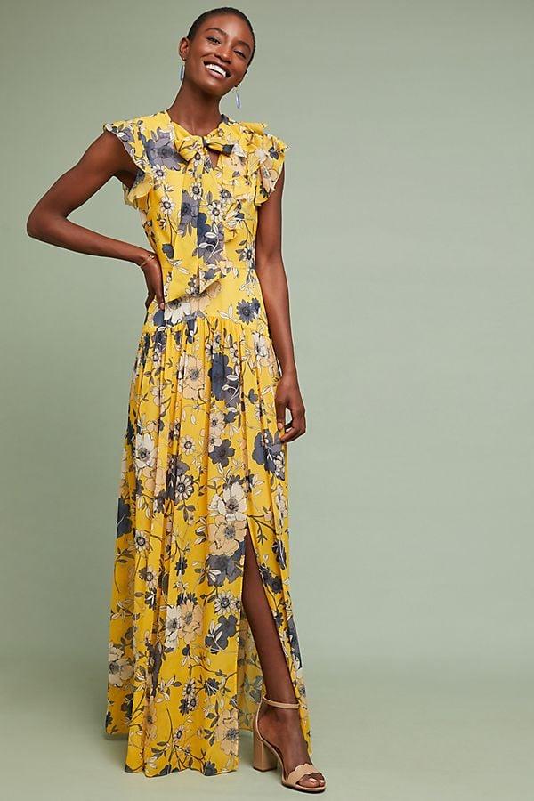 77e9bcd507d ML Monique Lhuillier Fiorina Maxi Dress