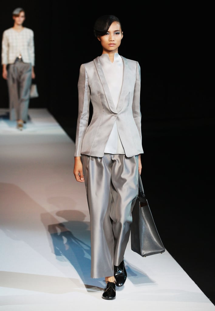 2013 Spring Milan Fashion Week: Giorgio Armani