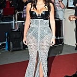 Kim Kardashian at the GQ Men of the Year Awards