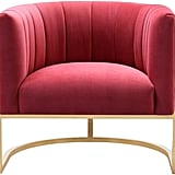 The Magnolia Collection Modern Living Room Accent Chair