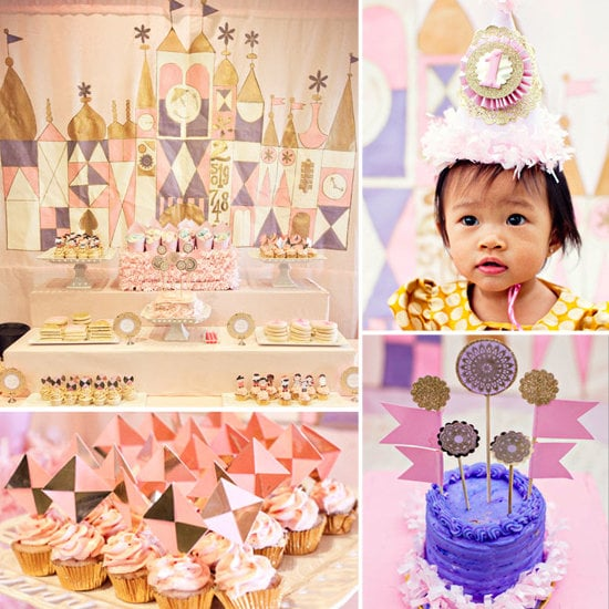 A (Lovely) Small World First Birthday Party