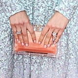 Pale pink is a perennial favorite, and Sienna Miller's nails at the BAFTA TV Awards made for a polish classic.