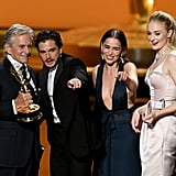 Kit Harington and Emilia Clarke Hug It Out at the Emmys
