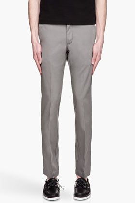 LEVI'S Grey STA-Prest 511 Slim Trousers