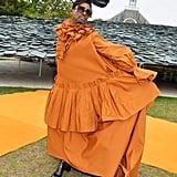 Billy Porter at the Roksanda London Fashion Week Show