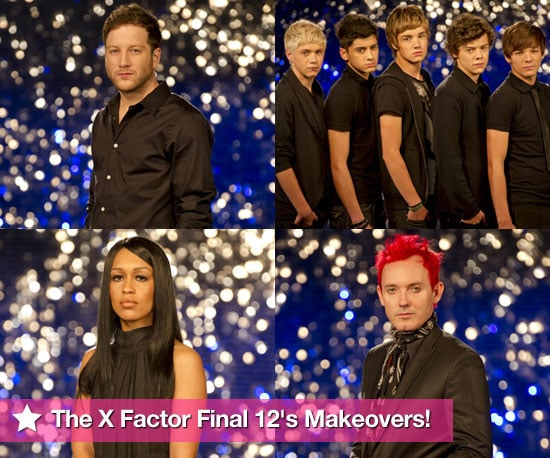 Pictures of The X Factor Final 12 Makeovers