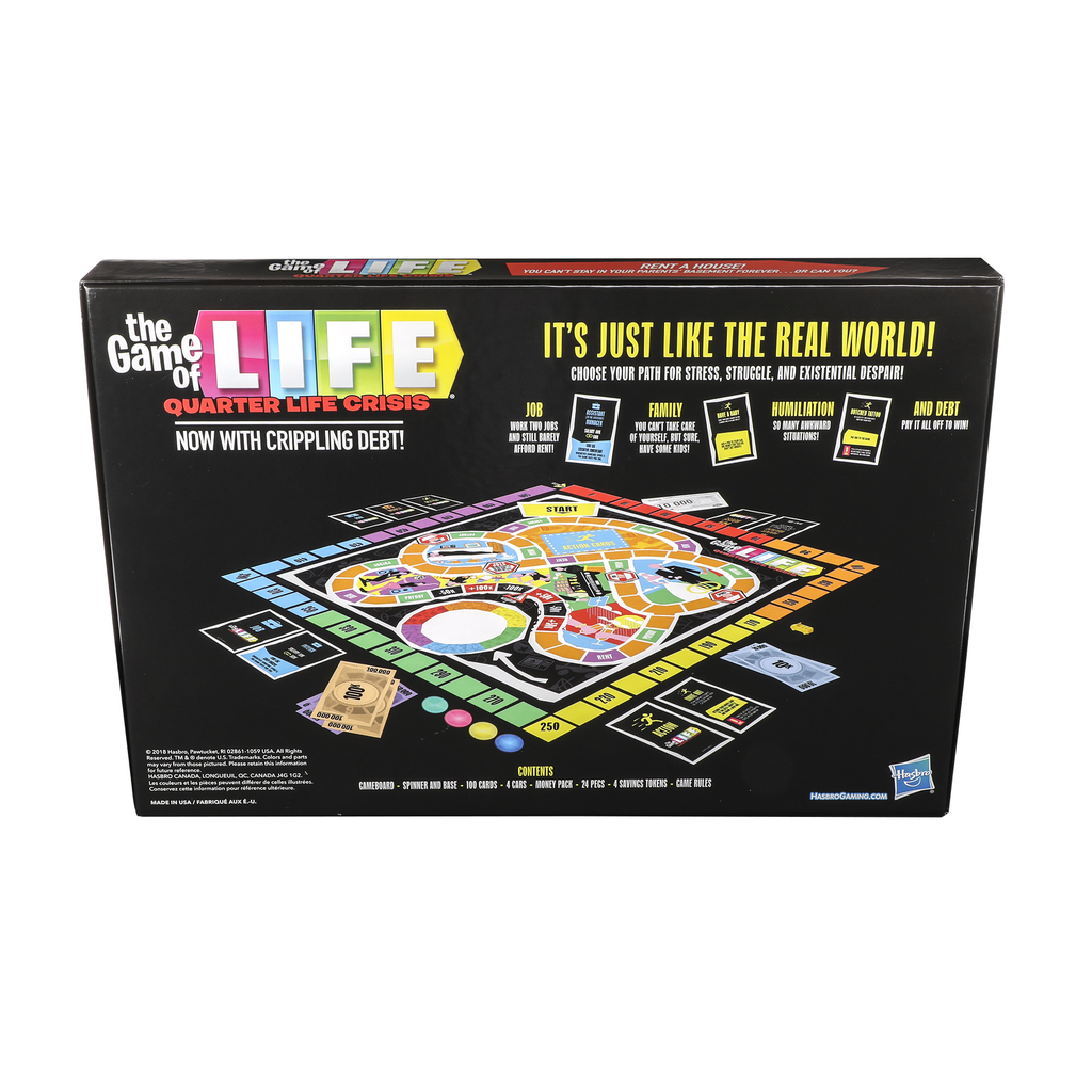 Game of Life: Quarter Life Crisis Parody Edition