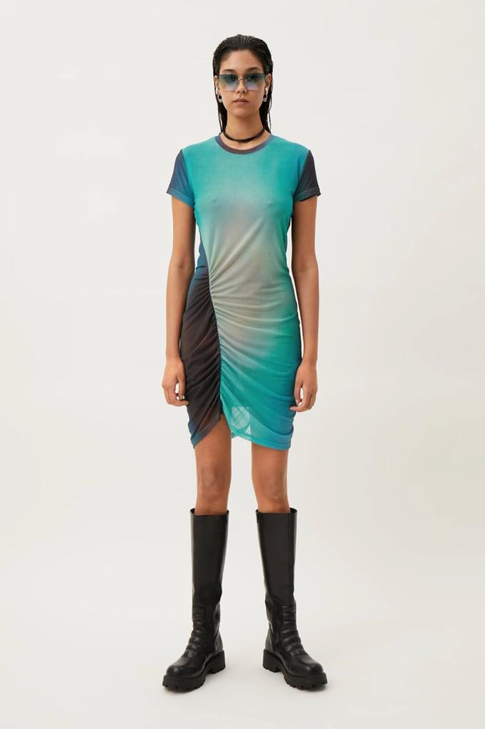 Weekday Darcy Ruched Dress