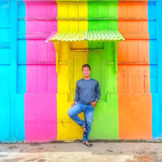 Colorful Town in Indonesia