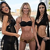 Pictures of Adriana Lima, Alessandra Ambrosio, Candice Swanepoel in Bikinis For Victoria's Secret