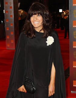 Pictures of Claudia Winkleman Who Is Pregnant