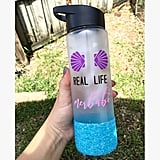 Fizz I'm Secretly a Mermaid Water Bottle with Straw ($8)