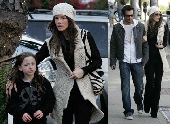 Kate Beckinsale Keeps Santa's Elves Busy