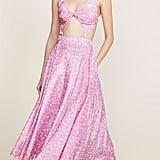 pushBUTTON V-Neck Cutout Dress
