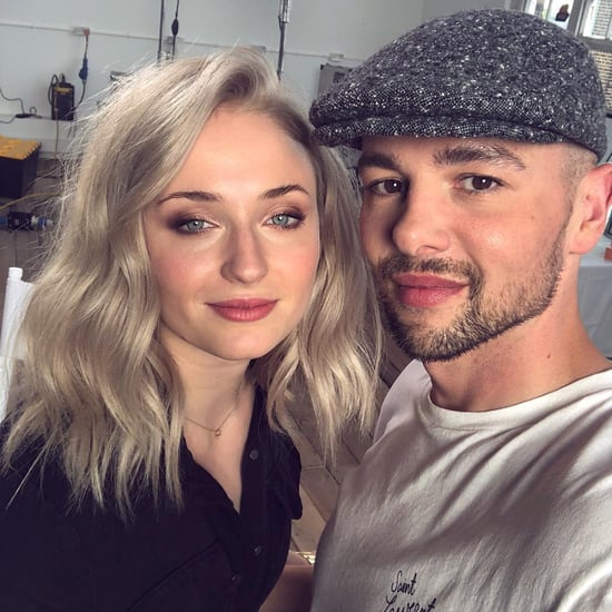Sophie Turner's Icy Blond Lob