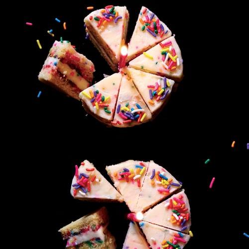 Mini Funfetti Cake With Funfetti Frosting