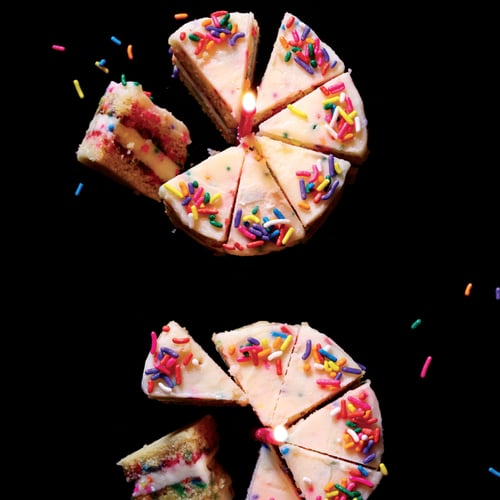 Mini Funfetti Cookie Cakes POPSUGAR Food