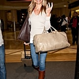 Cameron Diaz Touches Down With Her New Florida Tan