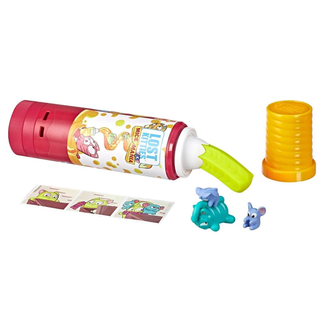 Lost Kitties Mice Mania Easy Squeeze Mice Can