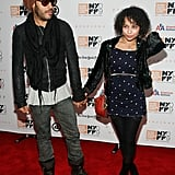 A young Zoë attended the New York Film Festival screening of Precious with her dad in October 2009.