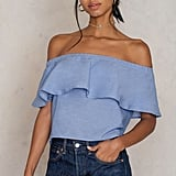 Glamorous Off Shoulder Ruffle Top