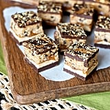 Cookie Butter Cookie Dough Caramel Bars