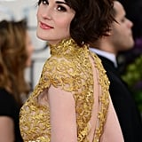 Michelle Dockery Brings Regal Glamour to the Golden Globes