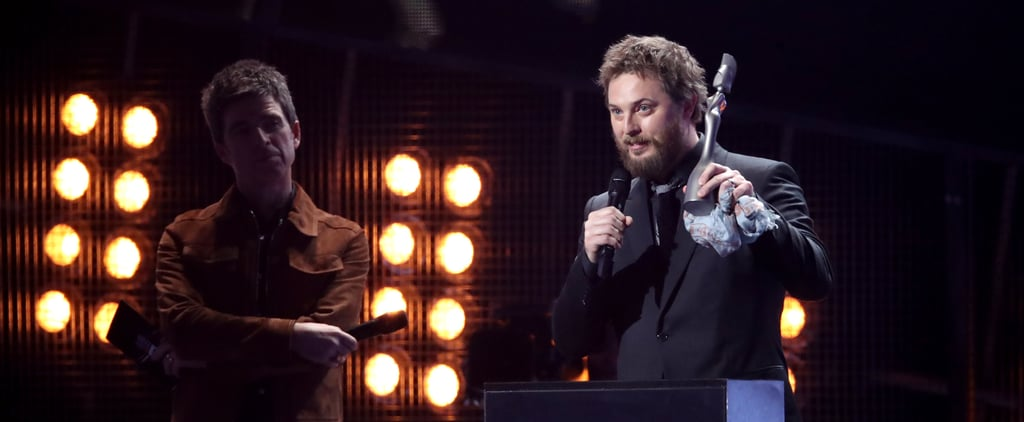"""Duncan Jones Accepting David Bowie's BRIT Award: """"This Is For All the Kooks"""""""