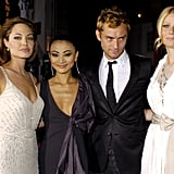 She attended the LA premiere of Sky Captain and the World of Tomorrow alongside Jude Law, Bai Ling, and Angelina Jolie in September 2004.