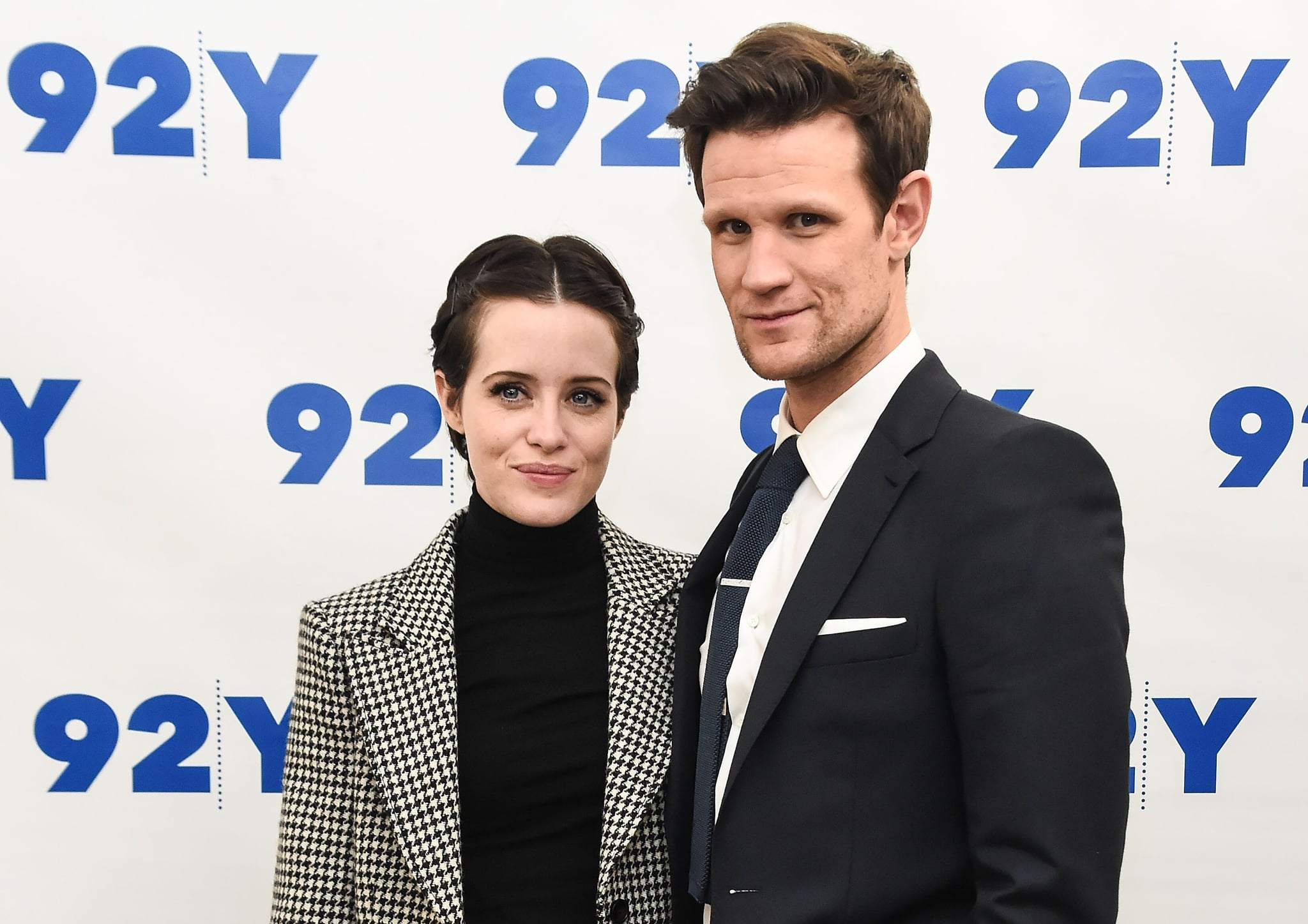 NEW YORK, NY - December 4: Claire Foy and Matt Smith attend the screening of & # 39; The Crown & # 39; at 92nd Street and December 4, 2017 in New York City. (Photo by Daniel Zuchnik / Getty Images)