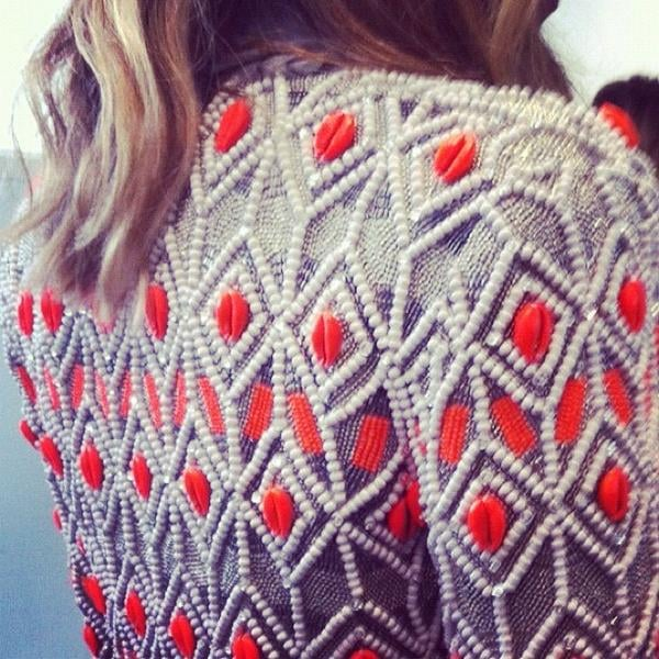 The sass & bide girls gave us a sneak peek at the collection they'll be showing at London fashion week. Source: Twitter user sass_and_bide