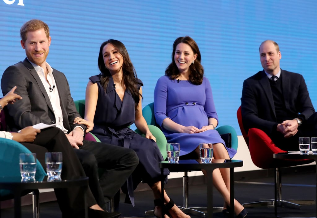 Harry, Meghan, William & Kate at the Royal Foundation Forum