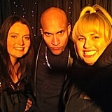 Keegan Michael Key filmed a night scene with the stars of Super Fun Night. Source: Twitter user RebelWilson