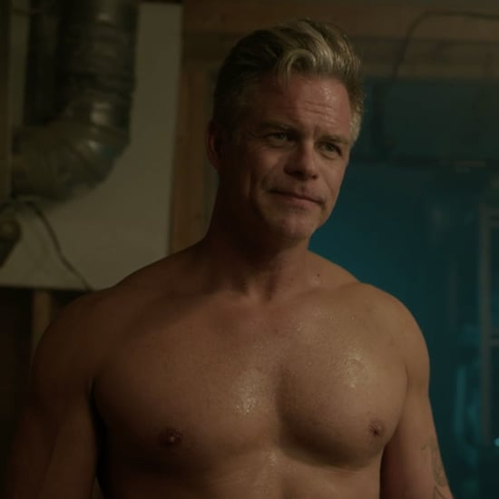 Sheriff Keller Shirtless on Riverdale Season 2