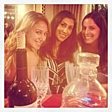 Haylie Duff marked Thanksgiving with friends. Source: Instagram user haylieduff