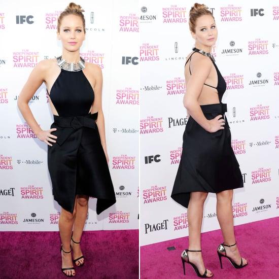 Jennifer Lawrence Spirit Awards Dress 2013 | Pictures