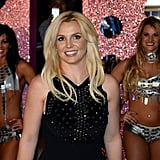Britney Spears was all smiles throughout her big night in Vegas.