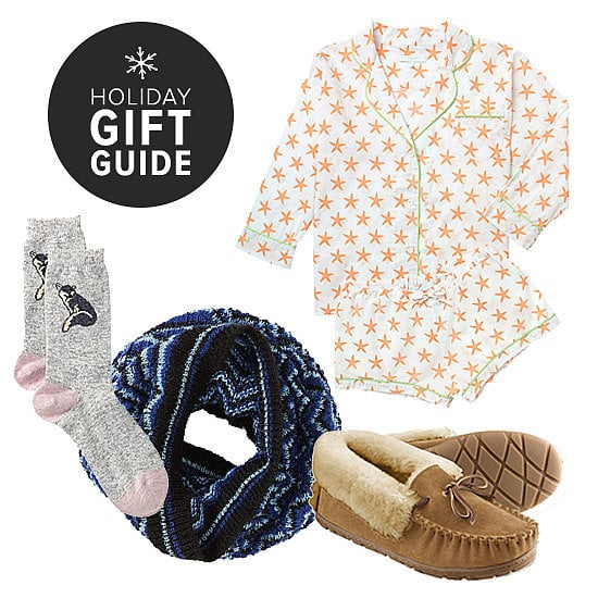 Think about it: what girlfriend wouldn't love a toasty scarf, ultraluxe cashmere sweater, or supersoft nightie? With every price point in mind, POPSUGAR Fashion crafted a list of the must-shop gifts — the kind you'll really want to curl up in, lounge around the couch in, and even a few to go outside the house in.