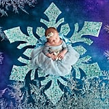 Frozen Newborn Photo Shoot