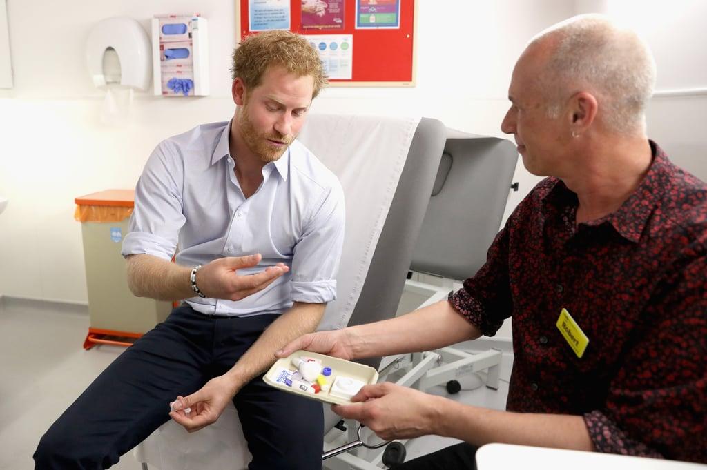 Prince Harry Gets HIV Test