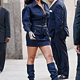 Rihanna's denim on denim on denim look from Oct. 2017 can only be described as freakin' amazing.