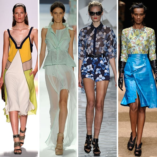 Trend Report From The Runways Of 2012 Spring Summer New York Fashion Week Graphic Prints The