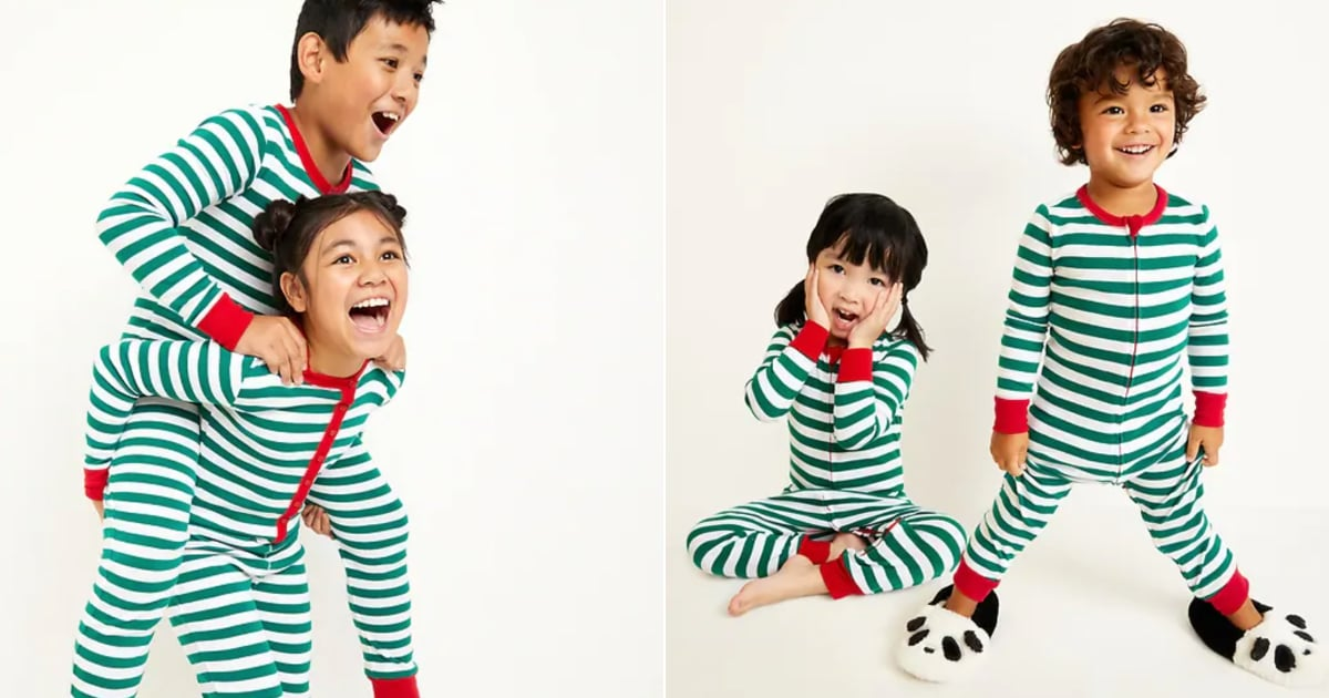 Old Navy Family Pajamas Are Here — and Half Off Today Only!