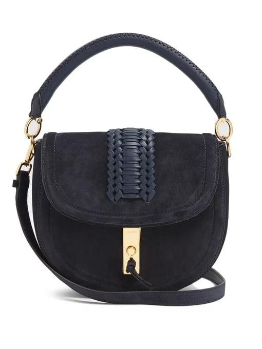 17a506169118 Altuzarra Ghianda Braided-Leather Suede Shoulder Bag