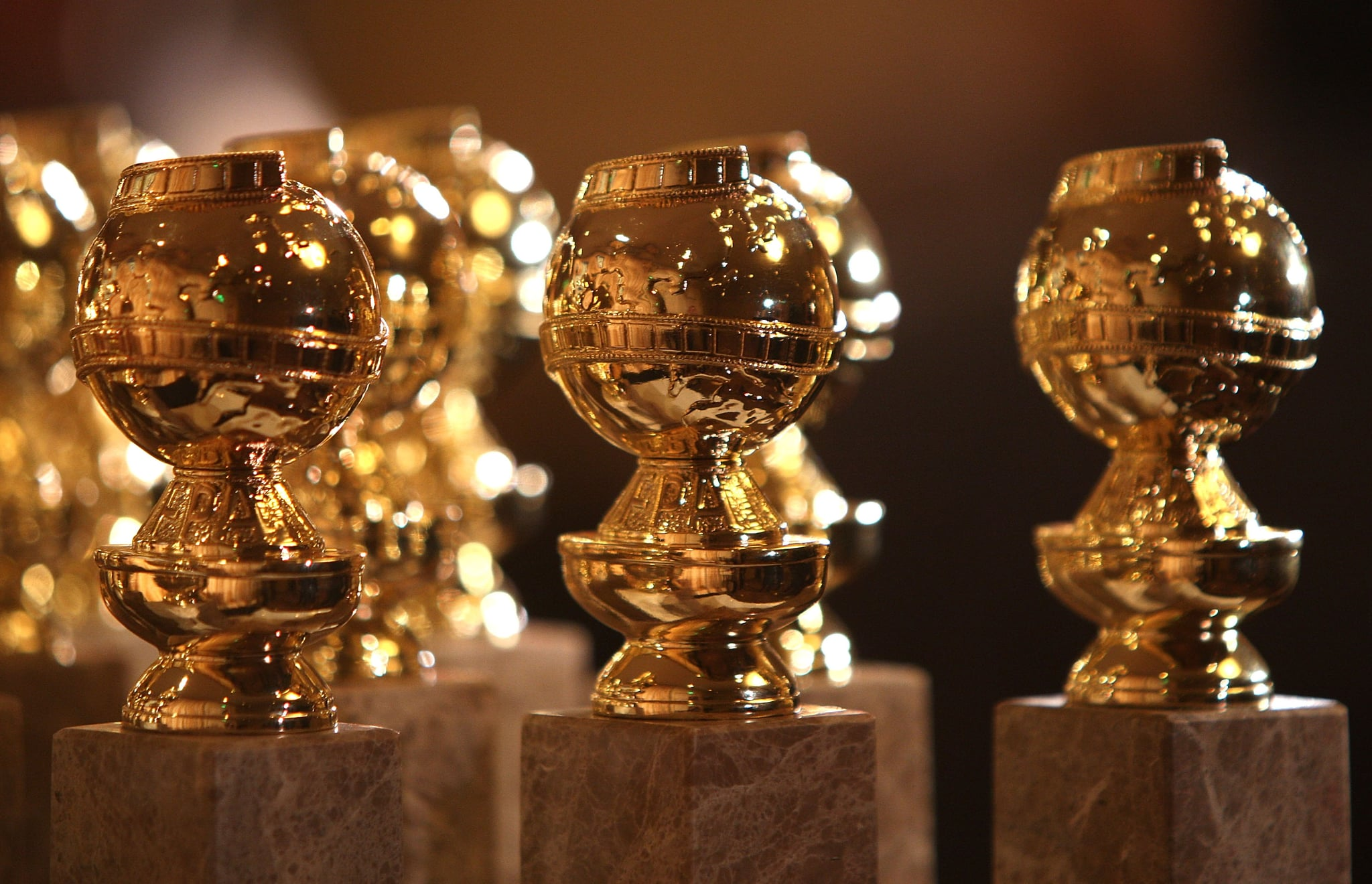 BEVERLY HILLS, CA - JANUARY 06:  The new 2009 Golden Globe statuettes are on display during an unveiling by the Hollywood Foreign Press Association at the Beverly Hilton Hotel on January 6, 2009 in Beverly Hills, California. The 66th annual Golden Globe Awards are scheduled for January 11.  (Photo by Frazer Harrison/Getty Images)